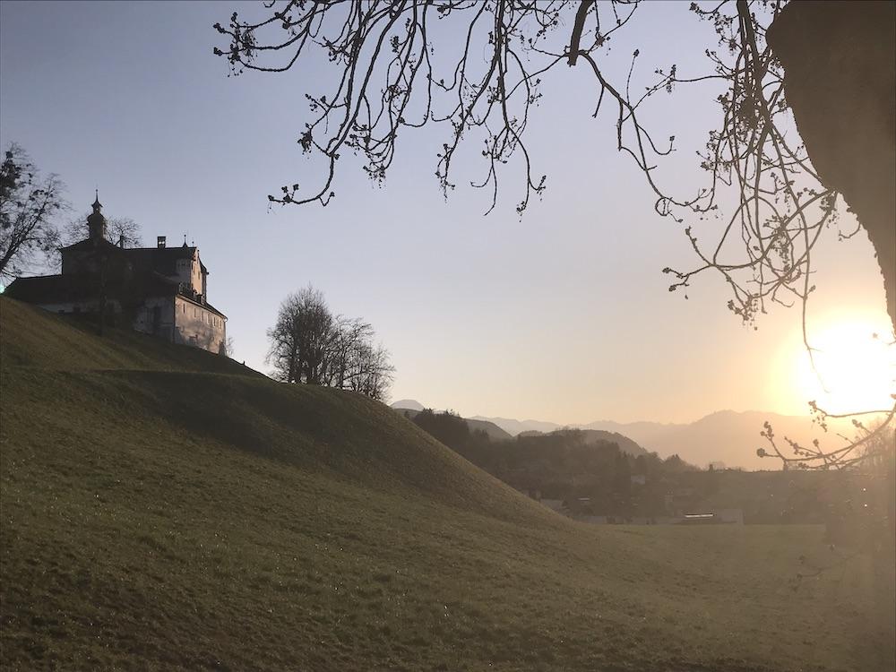 Schloss Aschach Schlosscamping Volders