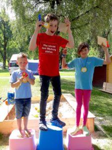 Kinderanimation Camping Volders Tirol