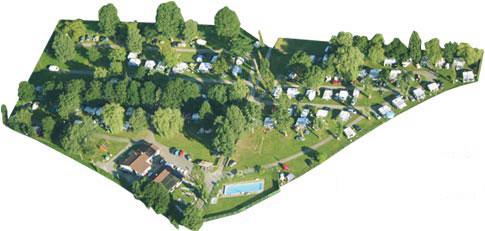 Lageplan Schloss Camping Aschach Campingplatz Tirol